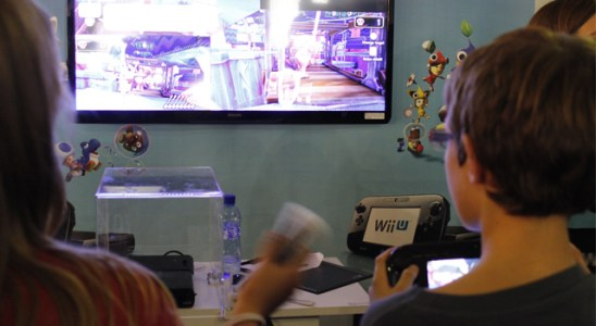 En el Salón del Manga se pudo probar la esperada Wii U.