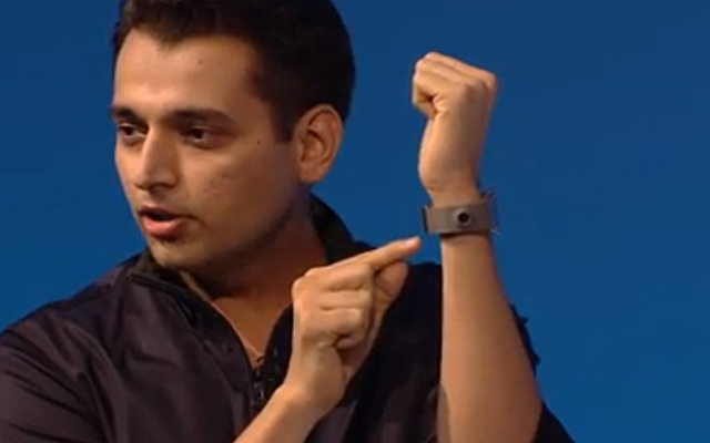 Samsung Gear Pranav Mistry