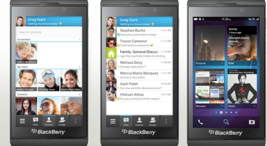 Blackberry Messenger app