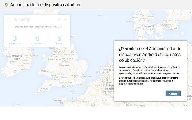 Android robado