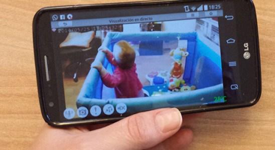 Hemos probado la Eye-On Baby Camera de D-Link