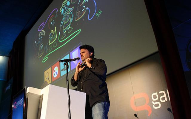 Tim Schafer en Gamelab 2014