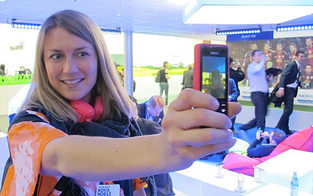 Nokia Lumia selfie