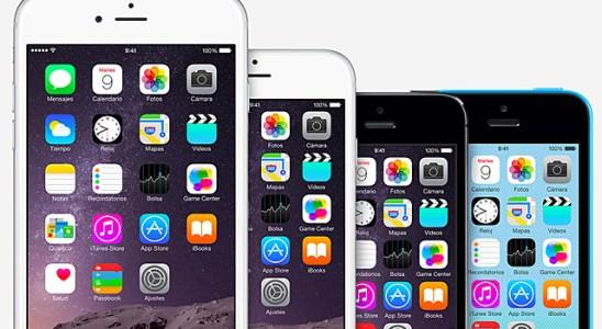 iPhone 6 tamaño iphone 5