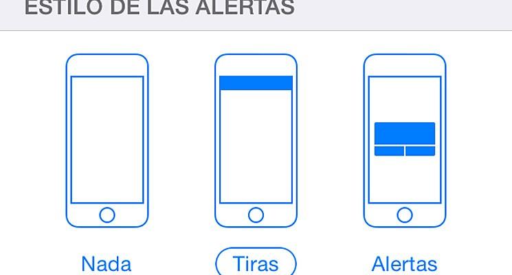 alertas iphone