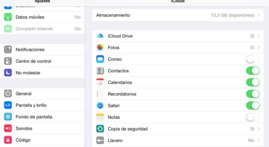copia seguridad iOS