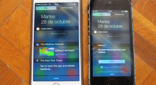 iphone notificaciones