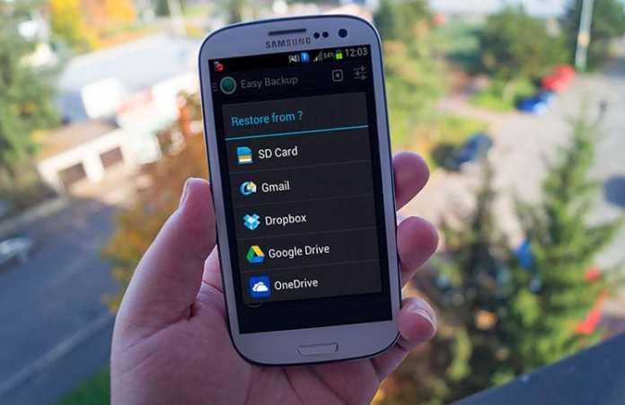 Copia de seguridad y back up para movil Android