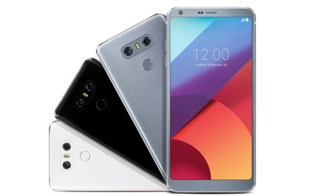 LG G6 colores
