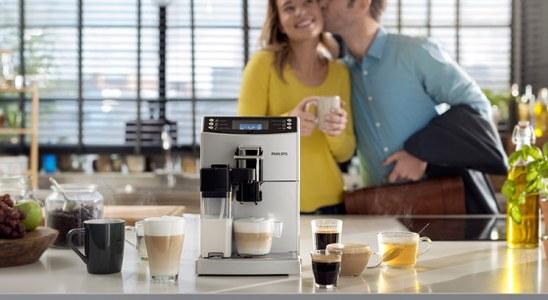 Cafetera cafe con leche Philips serie 4000 Cafe au lait