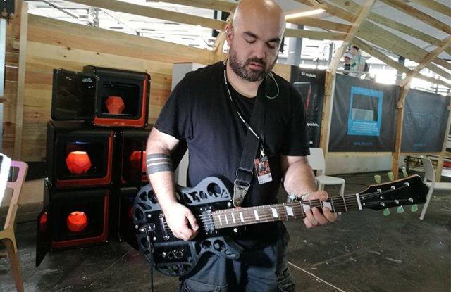 Guitarras impresas en 3D de EntresD
