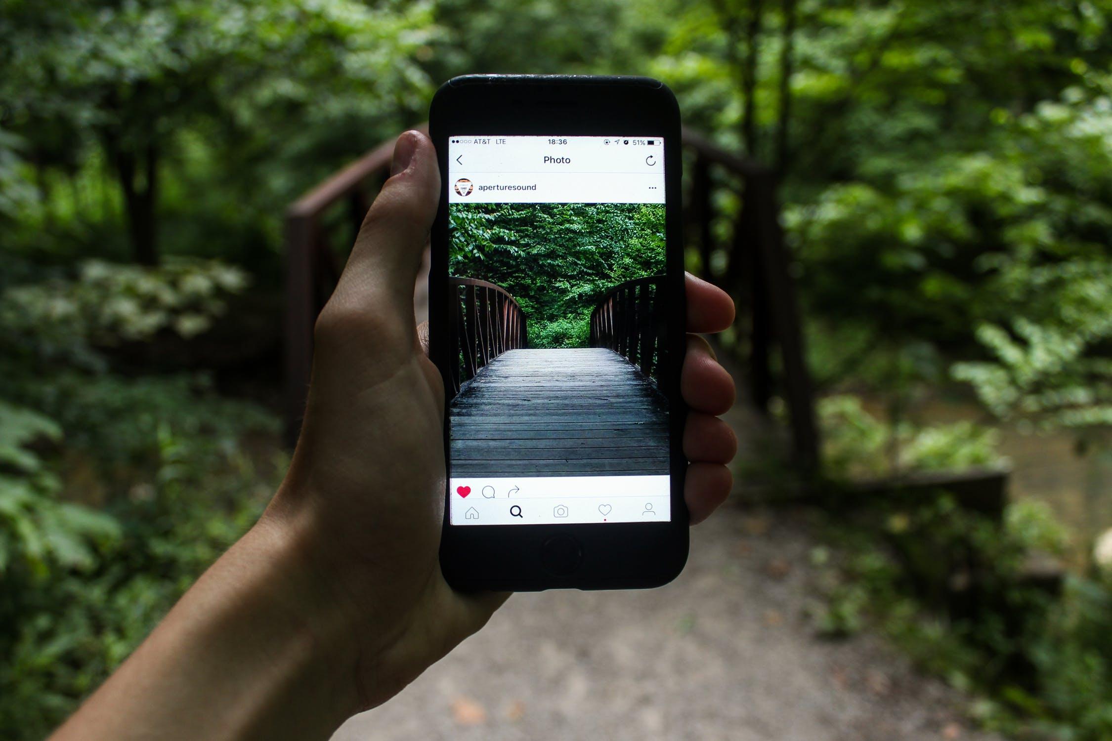 Instagram, la fotografía y el reto #instafriendly