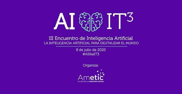 III Encuentro de Inteligencia Artificial #AIlikeIT3