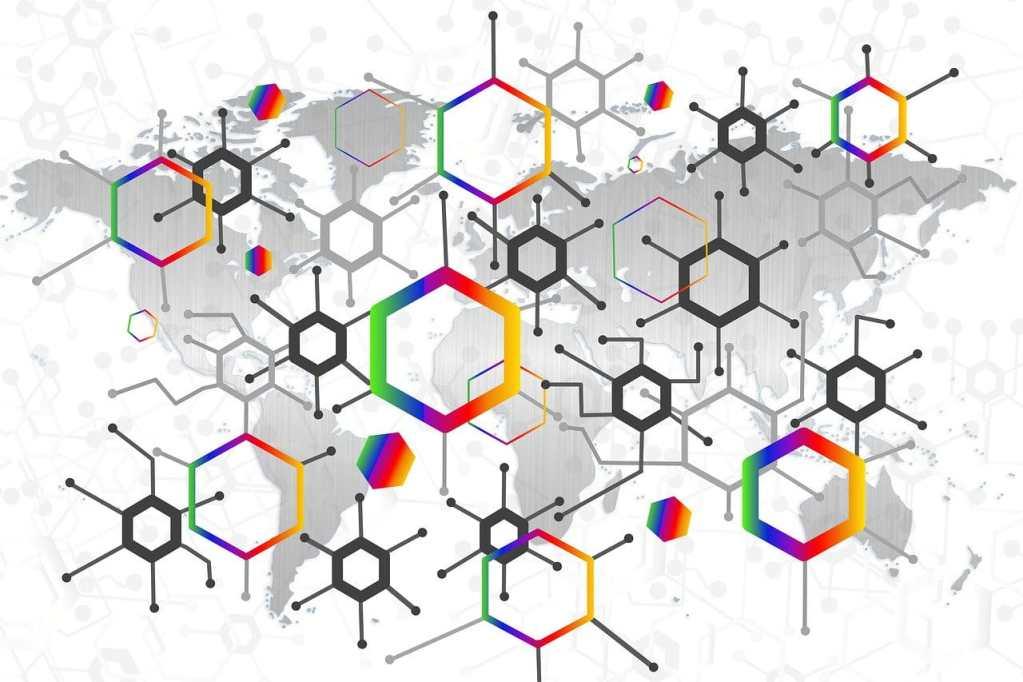 Mundo conectado por redes