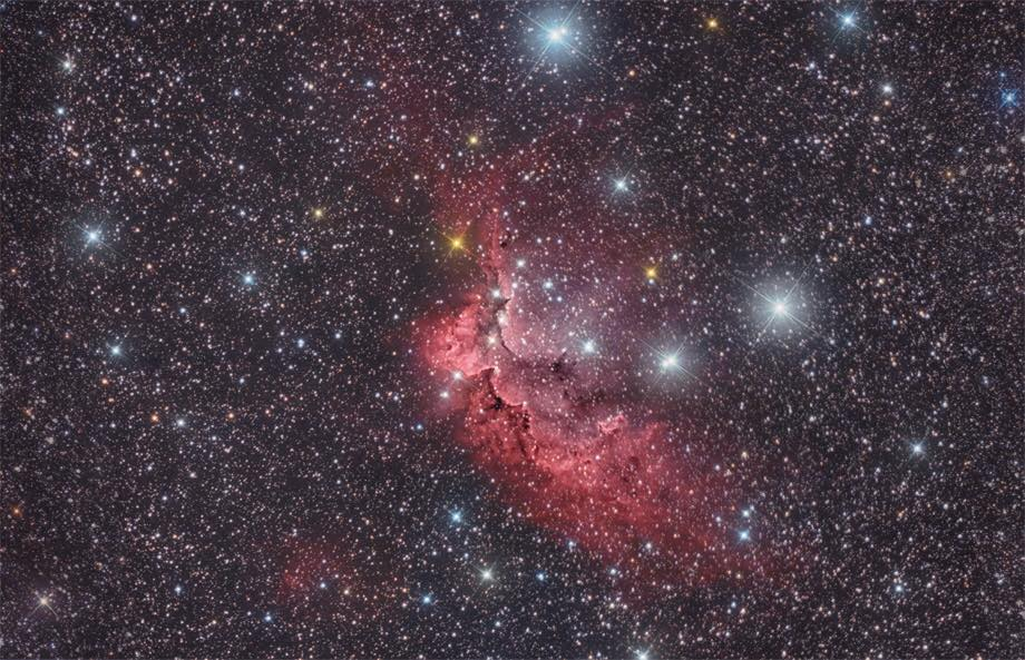 NGC7380, SH2-142 마법사 성운 (The Wizard Nebula)