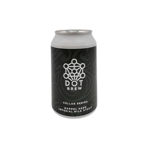 Dot Brew Cellar Series #1: barrel aged imperial milk stout
