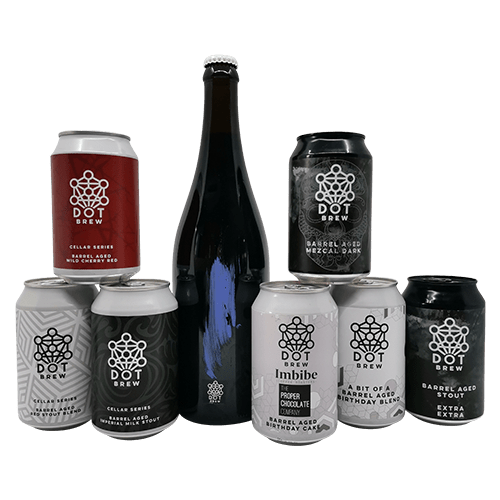 barrel aged Dot Brew Ultimate set
