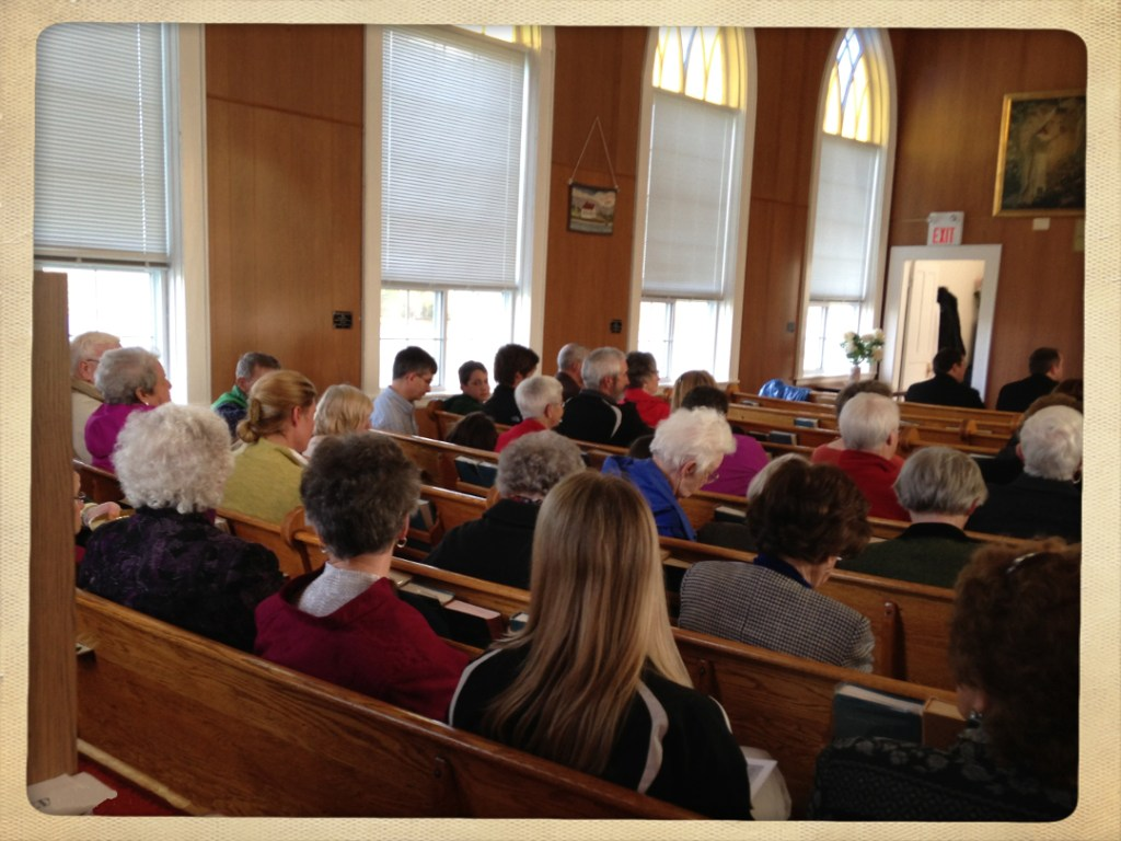 Little Narrows ecumenical Gaelic service congregation