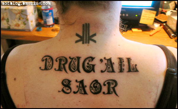 So You Want a Scottish Gaelic Tattoo – Part One