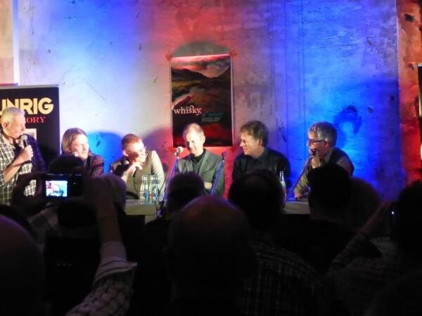 "Runrig's album launch for ""The Story"" in Bochum, Germany, January 2016. Photo courtesy of Davine Sutherland."