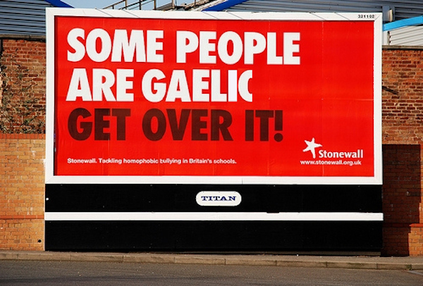 Some People Are Gaelic - Get Over It!