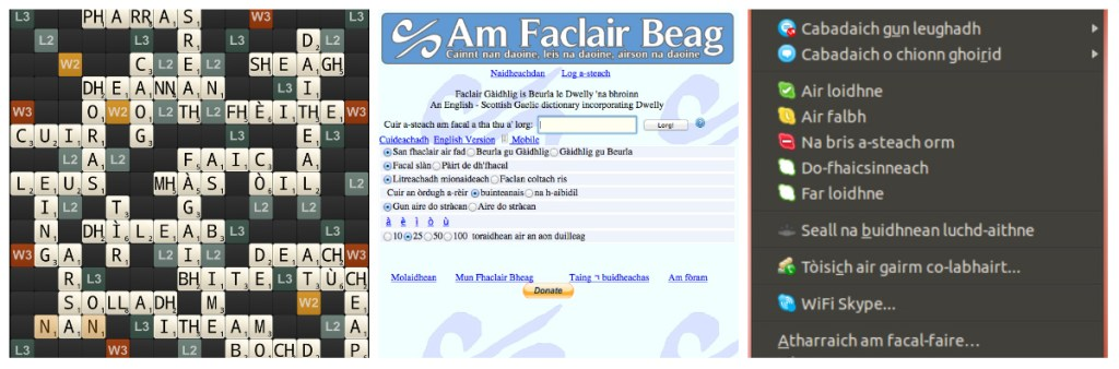 iGàidhlig: software localized for Scottish Gaelic
