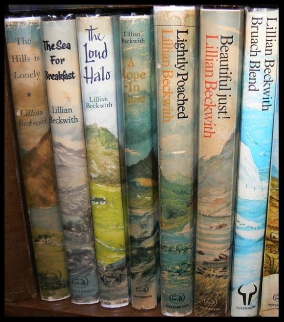 Books by Lillian Beckwith. Photo courtesy of The Eclectic Book Gatherer