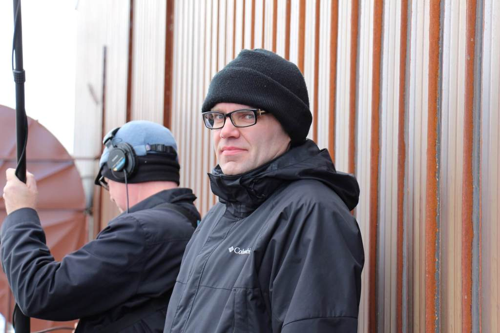 Canadian Gael in a tuque: Iain MacLeod on set