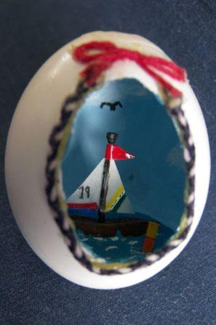 Sailboat Egg
