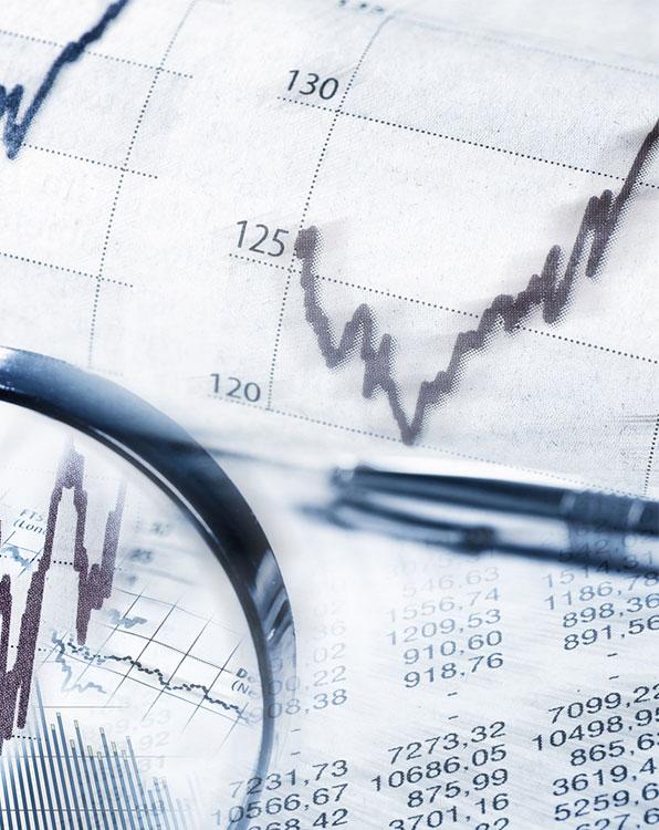 Investmentfonds und Finanz-Beratung
