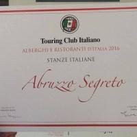 """Al B&B """"Abruzzo Segreto"""" di Navelli (AQ) il """"Marchio di qualità ospitalità italiana"""""""