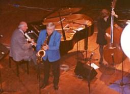 Nel 2001 con Piero Angela ad Ivrea
