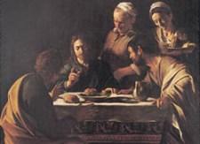 Cena di Emmaus Caravaggio Blog