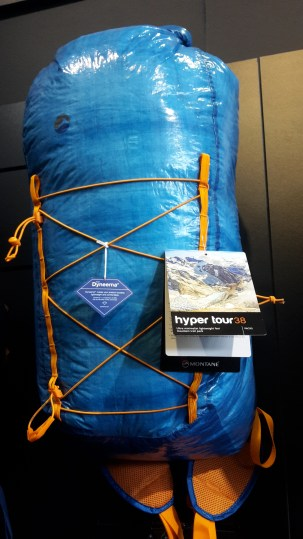 dyneema back pack montane