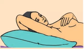 Breast Self-Examination (BSE) step 4