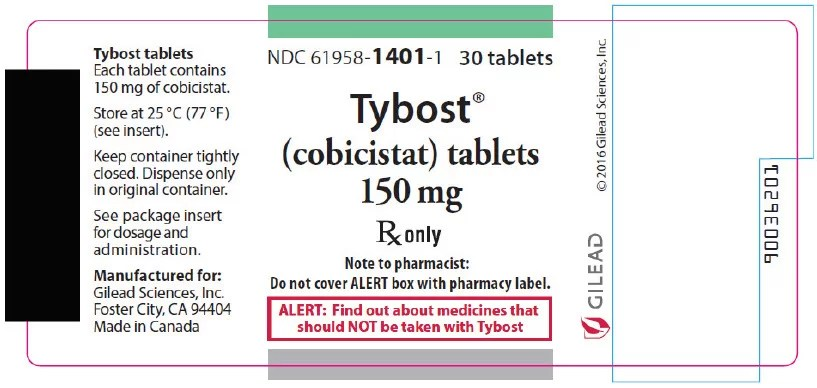 TYBOST® (cobicistat) tablets