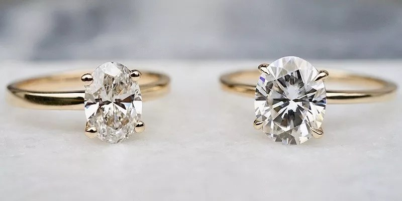 Moissanite vs Diamond