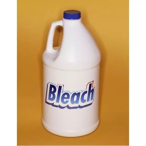 Bleach works, too, but be careful when using it