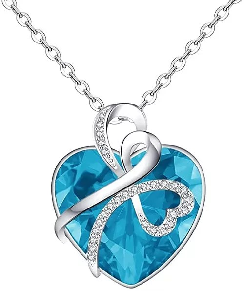 Yopicks Love Heart Necklace