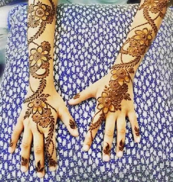 Full Hand Mehndi Design