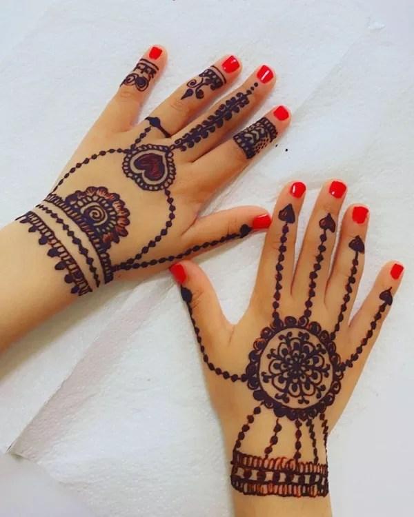 Mehndi Designs For Kids