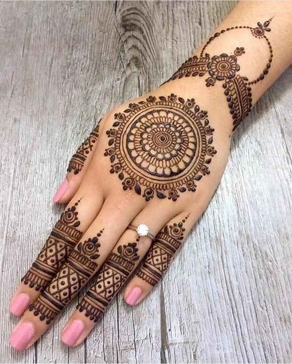 Simple Mehndi Designs