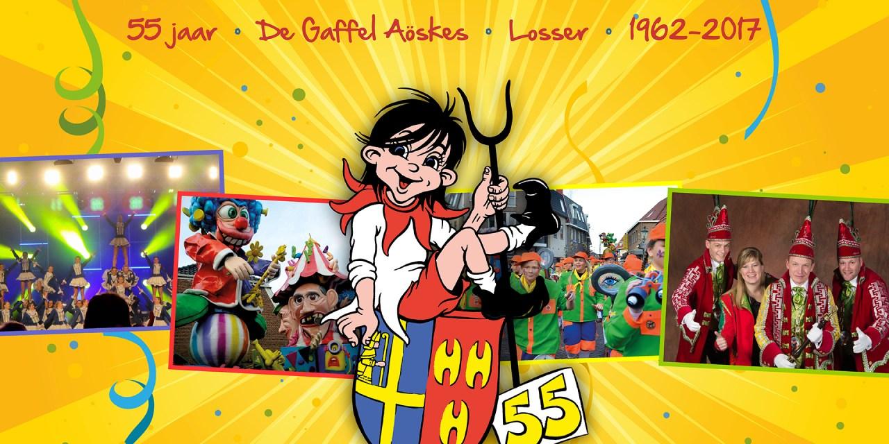 55-jarig jubileum 11/11 en 12/11