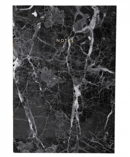 Black Marble A4ish Notebook £4.95 Ohh Deer