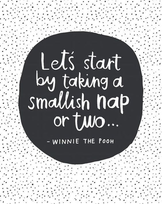 Winnie The pooh quote wall print