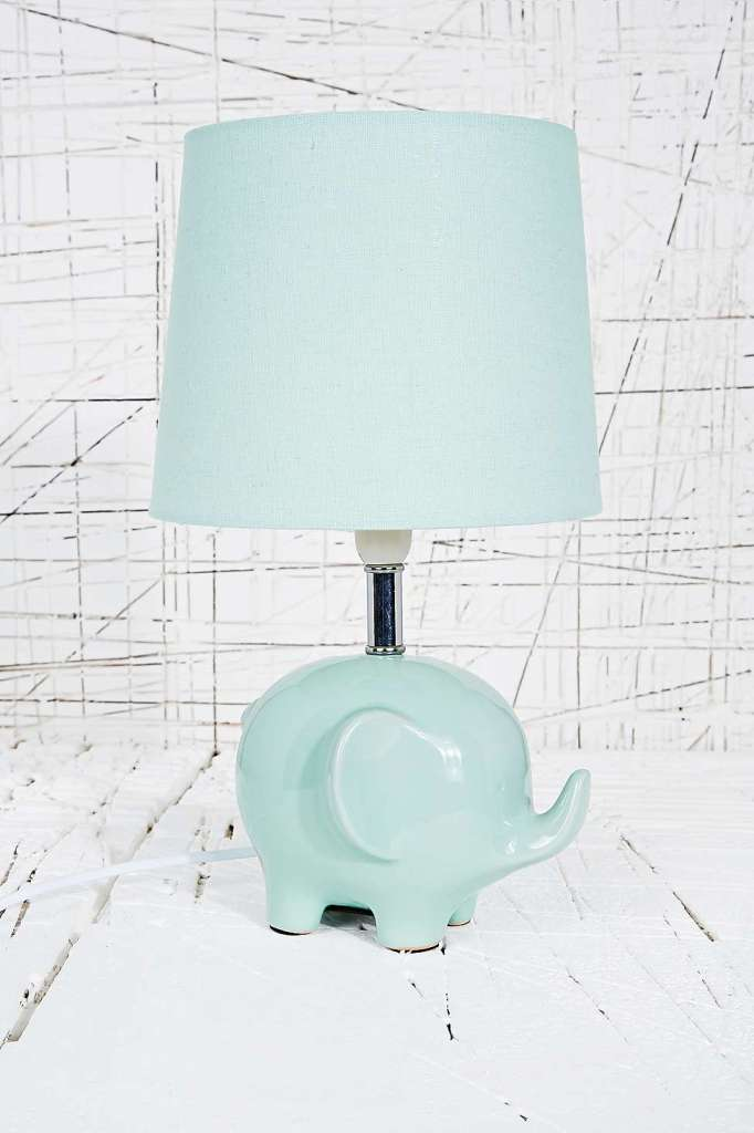 8 table lamps to transform a room gaff interiors urban outfitters mint elephant lamp aloadofball Gallery