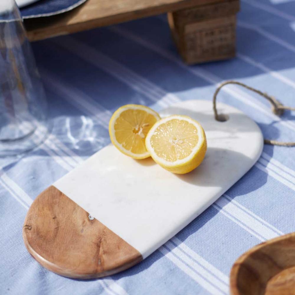 Marble / Acacia Wood Platter €24.95 Meadows & Byrne