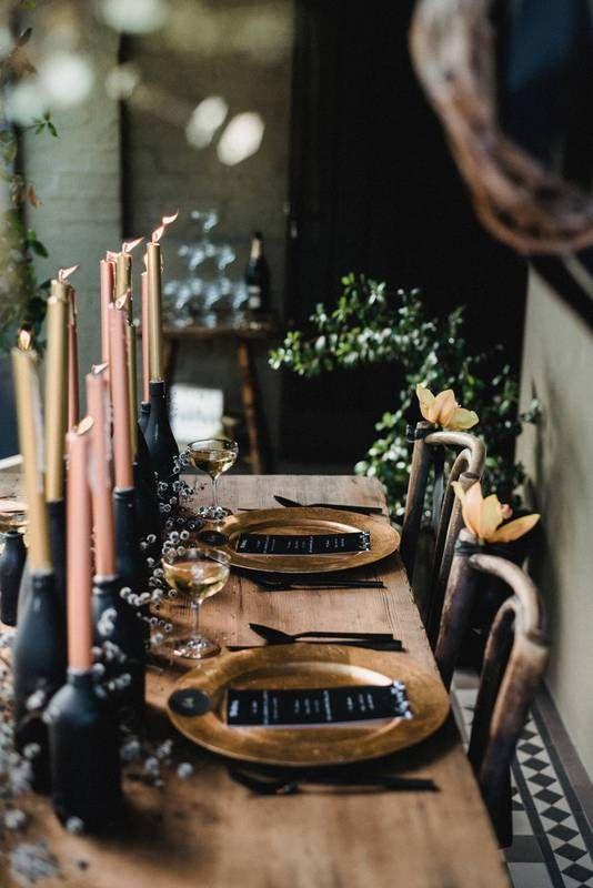 halloween table dining decoration domino