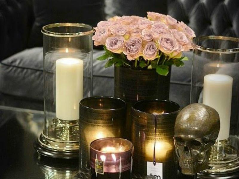 halloween skull the decorista
