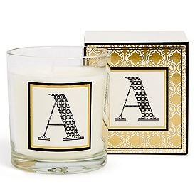 Alphabet candle Marks & Spencer
